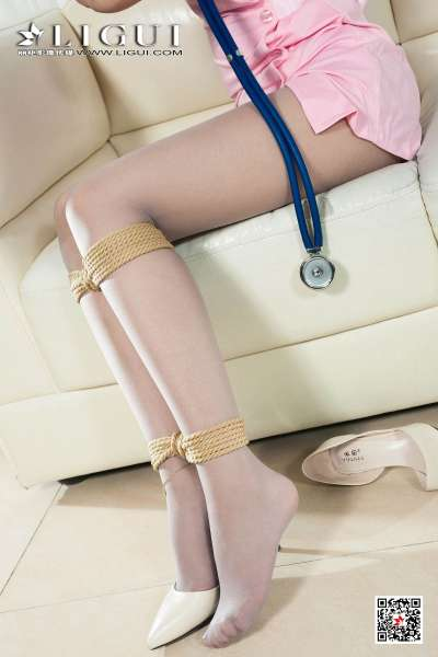 丽人@腿模钟晴 - 灰丝美护士
