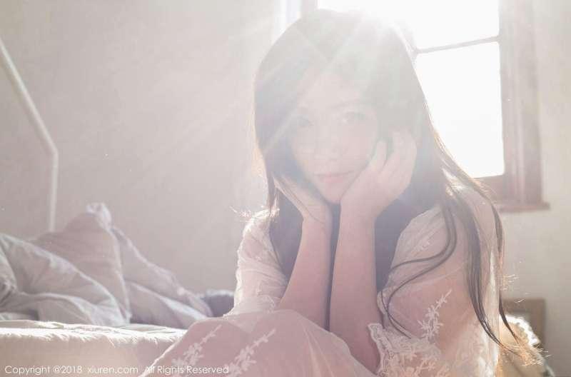 许诺Sabrina - 早安女友系列写真