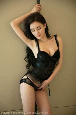 新人模特@性感美女黄寒娜首套写真