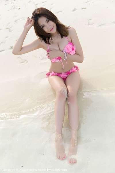 许诺Sabrina - 翘臀美女马尔代夫旅拍第二套写真