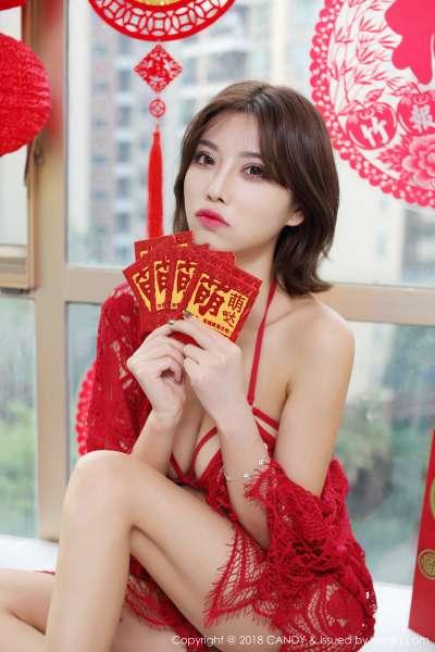 杨晨晨sugar - 新春性感巨乳特辑图集