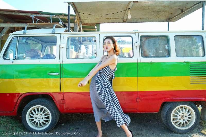 模特@长腿美女~冯木木LRIS菲律宾的班塔延岛旅拍写真