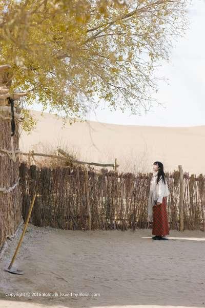 之应 - 秋画之应沙漠旅拍动人美图