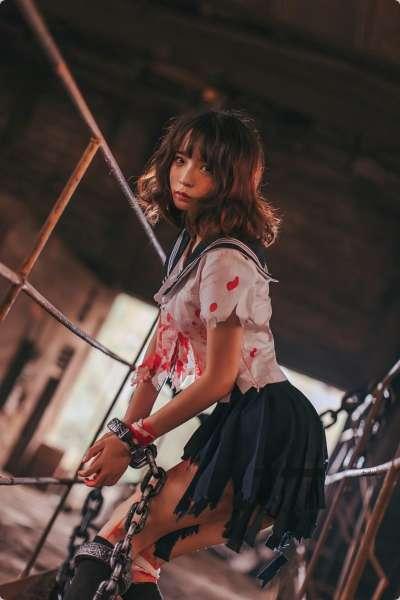 [Cos]疯猫ss- 被囚禁的少女[44P]