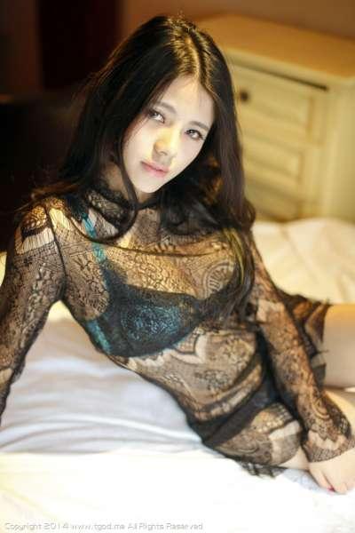 欧阳妮@娜娜-惹火蕾丝 性感御姐套图写真