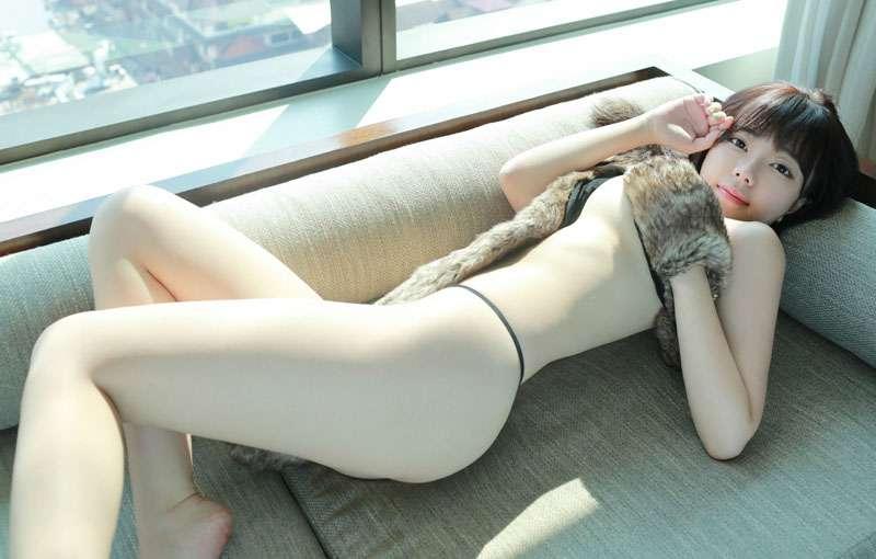 刘飞儿清新美女娇滴可爱吹弹可破酥胸翘臀[30P]