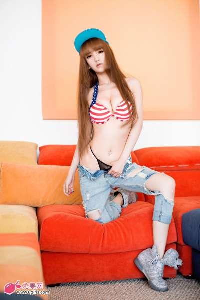 模特小潘鼠-呆萌萝莉,清纯可人的诱惑图集