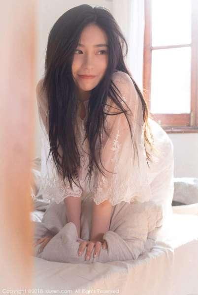许诺Sabrina - 早安女友性感系列写真