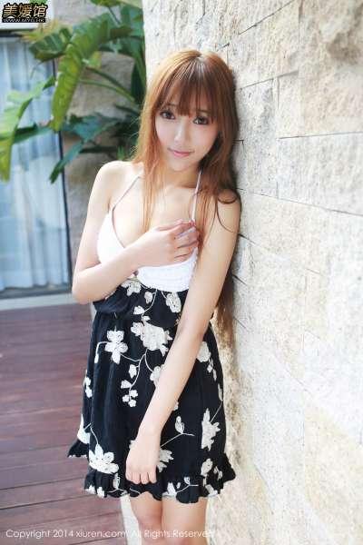女神王馨瑶yanni-三亚翘臀写真第一弹