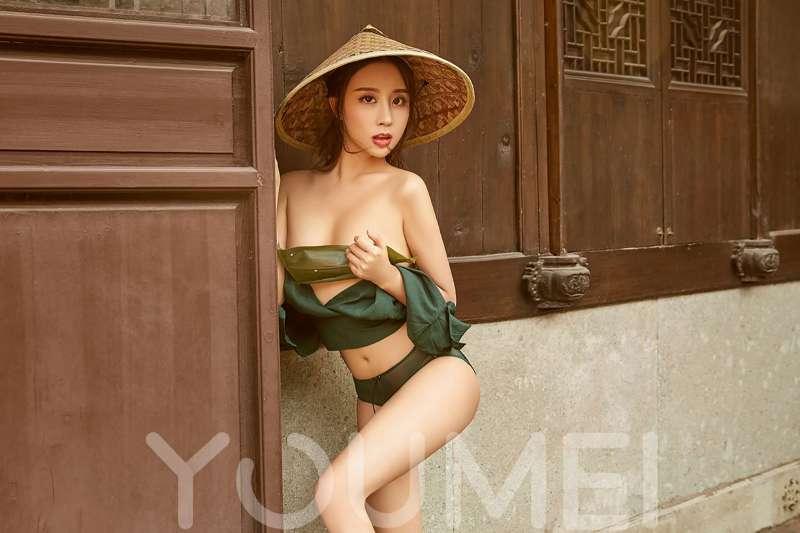 筱慧 - 佳人如棕 长腿美女写真套图
