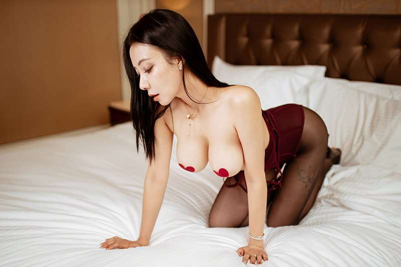 黑丝美女[20P]