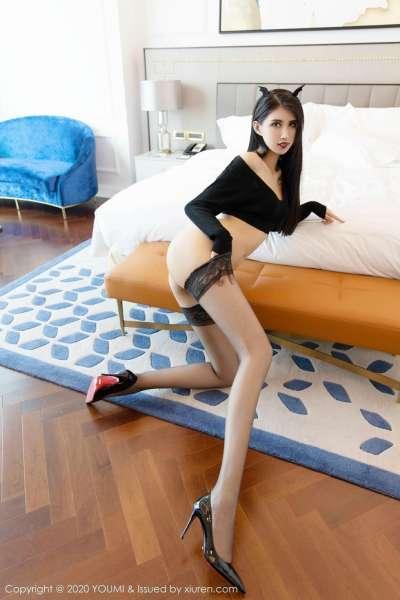 长腿黑丝袜性感撩人美娇娘[23P]