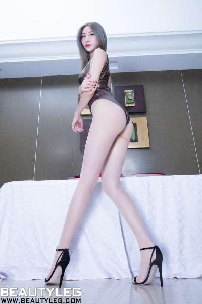 腿模Xin - 黑丝高跟性感长腿套图