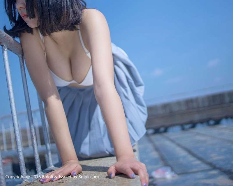 汐姐 - 天台JK制服诱惑图片
