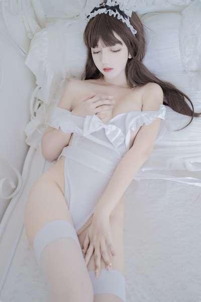 过期米线线喵 -连衣围裙透视图片