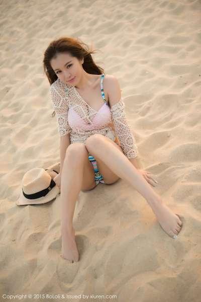 清纯美女刘娅希三亚旅拍写真图片