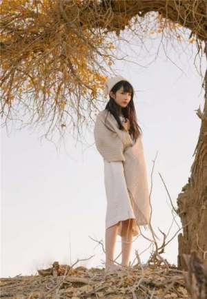 95后可爱清纯美女之应沙漠唯美写真照