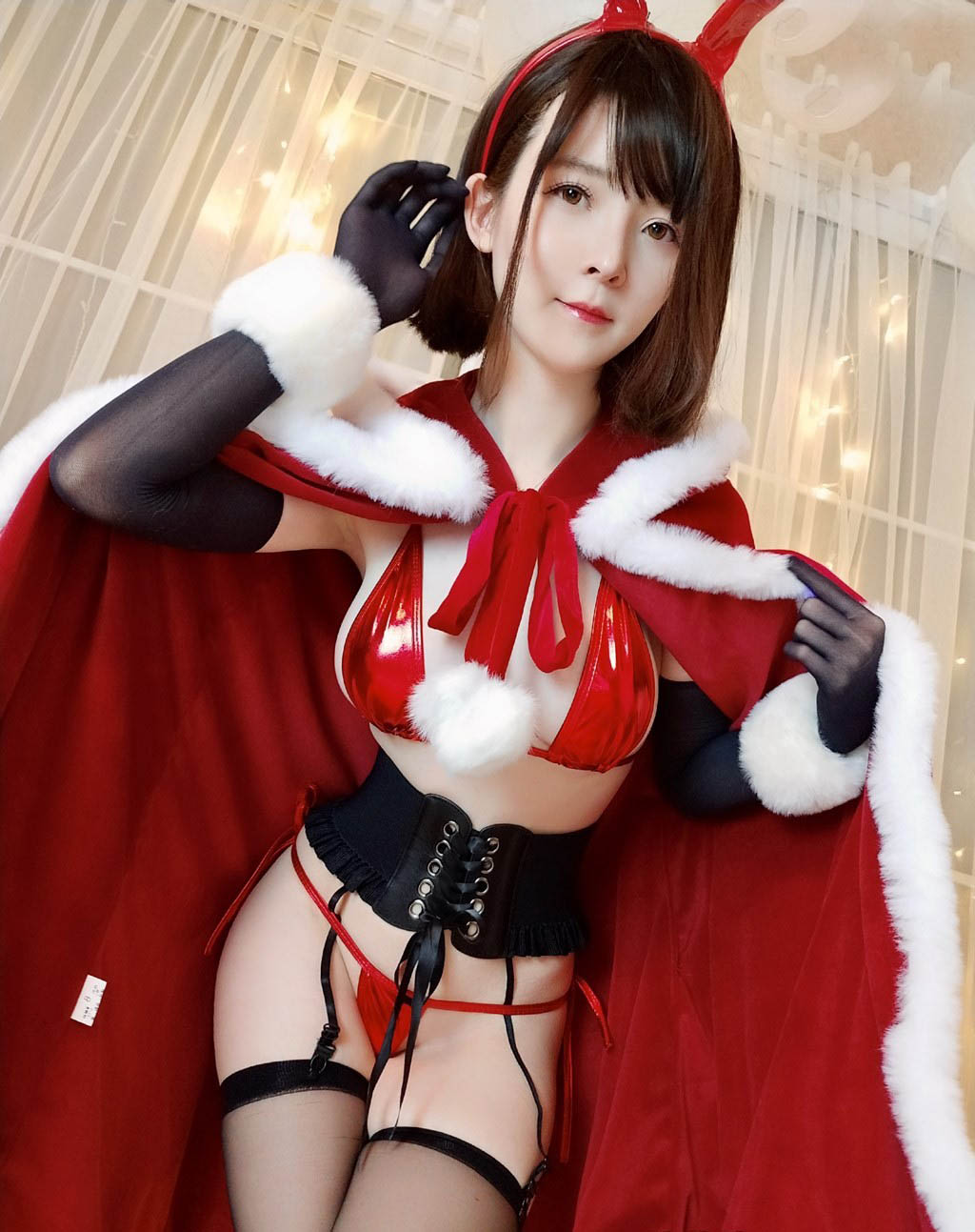 cosplay 圣诞兔