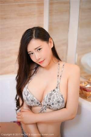 丁字裤美臀性感美女王婉悠人体浴室写真